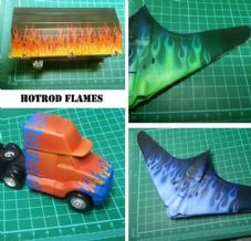 HD22 - Hotrod Flames.